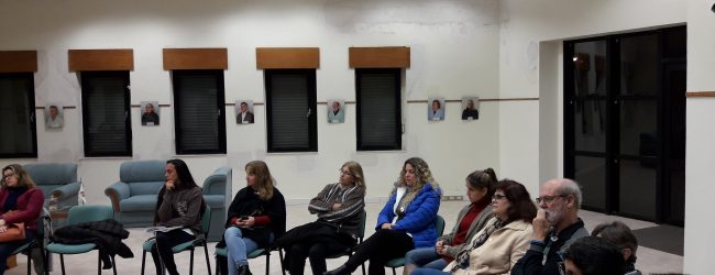Reunión de Instituciones y vecinos: Violencia Familiar