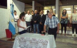 Celestino Nicolau juró su sexto mandato