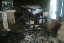 Robo e incendio en una quinta de Hersilia