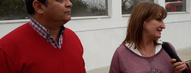 La Ministra Uboldi visitó Arrufó