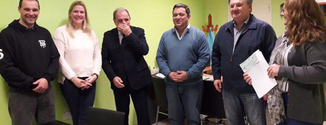 El Ministro  Morini visitó Arrufó