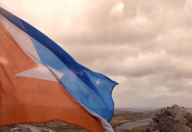 Tierra del Fuego envió su bandera al Intendente de Ceres
