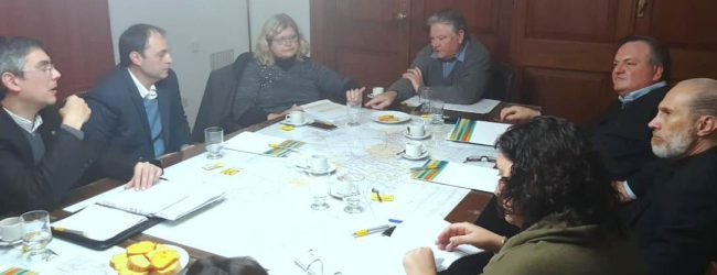 La Ministra Balagué concurrió a la Cámara de Senadores para informar sobre temas de Educación Rural