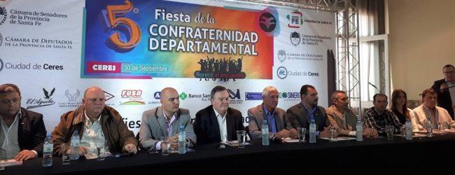 """En la ciudad de Suardi se presentó la """"5ta. Fiesta de la Confraternidad Departamental"""""""