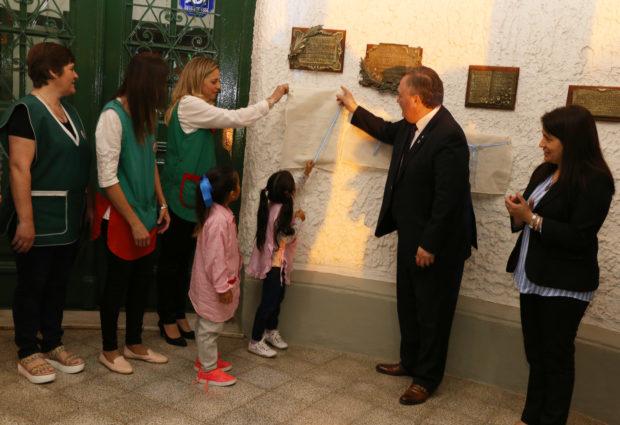 El Jardín de Infantes Nº 187 festejó sus 25 años.