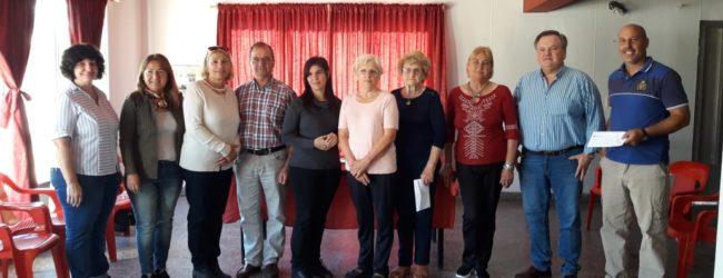 El Senador Michlig visitó Hersilia y  entregó aportes a instituciones
