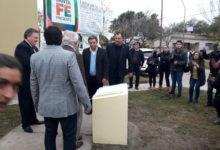 Arrufó: Lifschitz inauguró viviendas y la repavimentación de la ruta 39