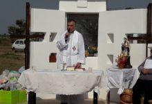 Misa y procesión en el Barrio San Cayetano