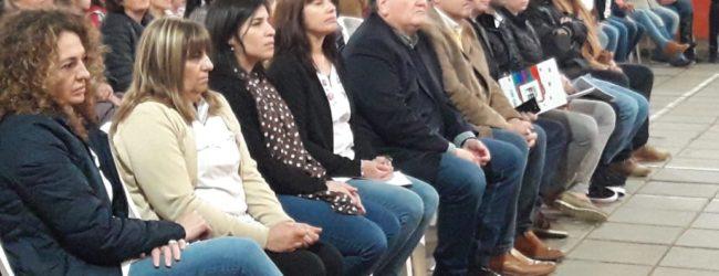"""El Senador Michlig participó de actos escolares por el """"día del maestro"""" y entregó aportes gubernamentales"""