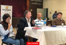 COVID-19: Reunión en San Cristóbal y Arrufó con funcionarios Pciales.